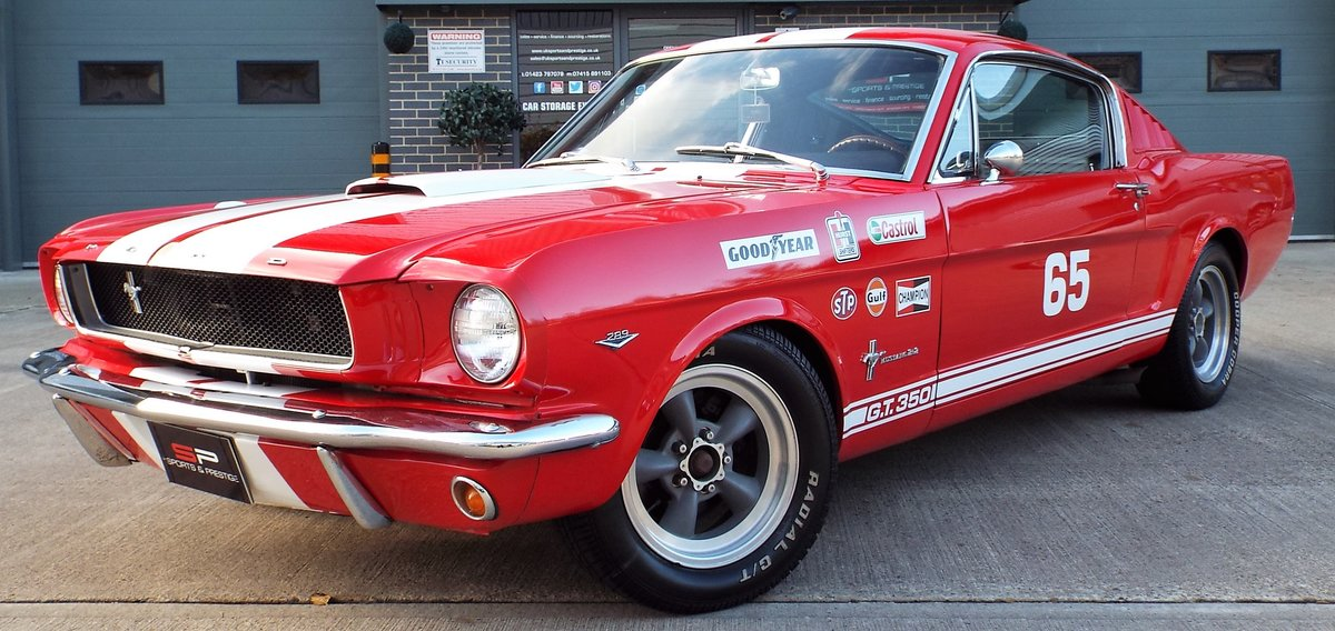1965 Ford Mustang 4.7 V8 289 Manual Shelby GT350 Fastback For Sale (picture 10 of 12)