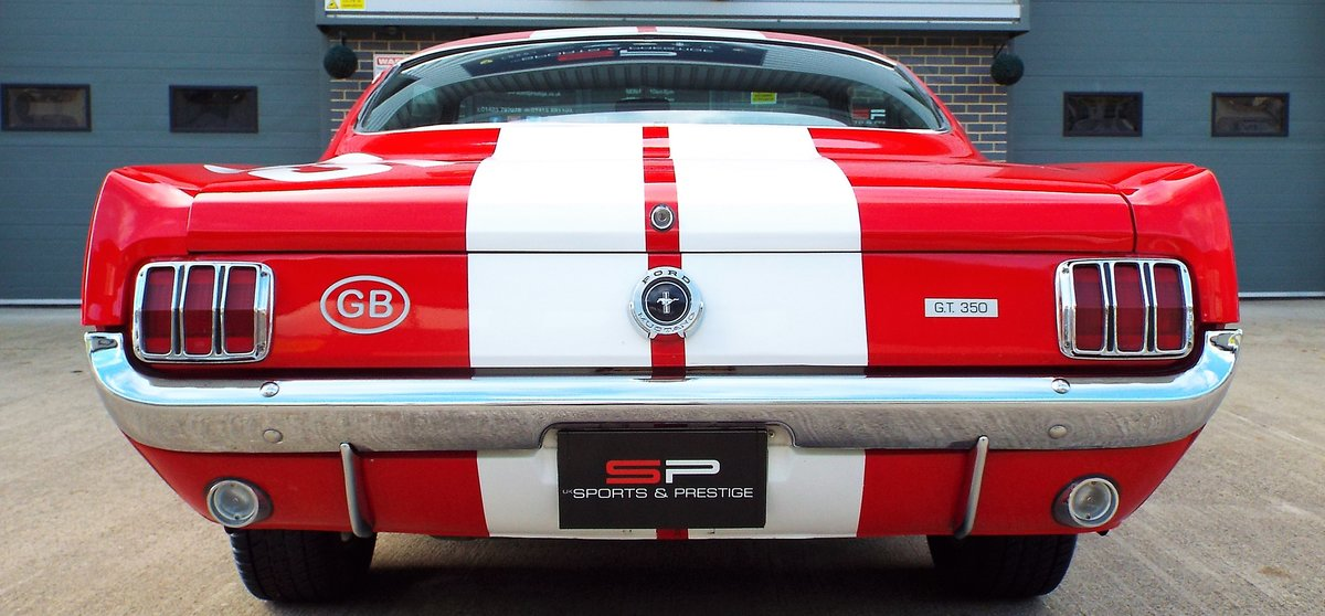 1965 Ford Mustang 4.7 V8 289 Manual Shelby GT350 Fastback For Sale (picture 11 of 12)