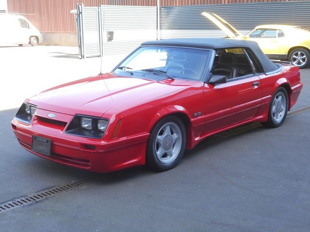 1986 FORD MUSTANG 5.0 V8 GT CONVERTIBLE For Sale (picture 1 of 12)