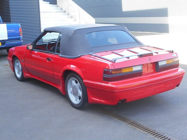 1986 FORD MUSTANG 5.0 V8 GT CONVERTIBLE For Sale (picture 3 of 12)