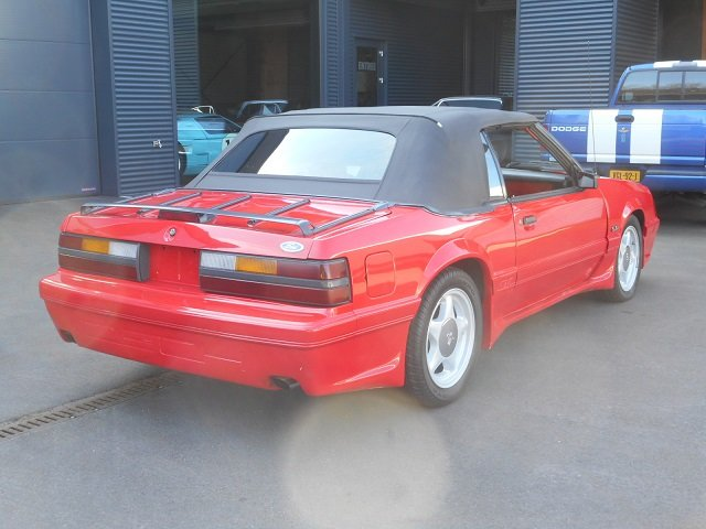 1986 FORD MUSTANG 5.0 V8 GT CONVERTIBLE For Sale (picture 4 of 12)
