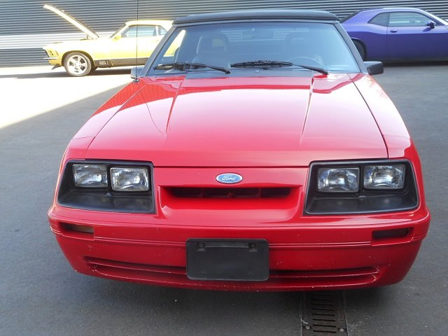 1986 FORD MUSTANG 5.0 V8 GT CONVERTIBLE For Sale (picture 5 of 12)