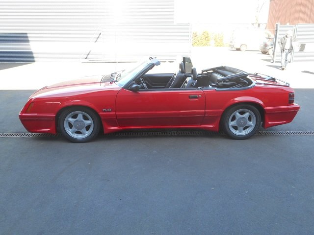1986 FORD MUSTANG 5.0 V8 GT CONVERTIBLE For Sale (picture 12 of 12)
