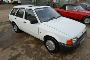 Picture of 1988 MK4 FORD ESCORT L ESTATE 1600 DIESEL WITH MOT For Sale