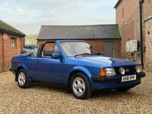 Picture of 1984 Ford Escort 1.6i (XR3) Cabriolet. Only 64,000 Miles. For Sale