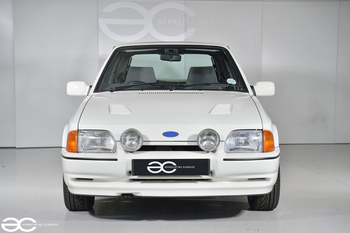 1990 90 Spec Escort RS Turbo S2 - 44k Miles - Last Owner 25 Years For Sale (picture 1 of 12)