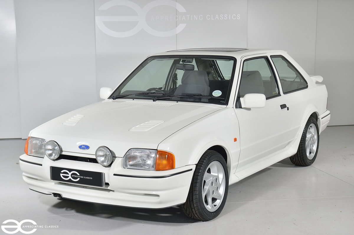 1990 90 Spec Escort RS Turbo S2 - 44k Miles - Last Owner 25 Years For Sale (picture 2 of 12)