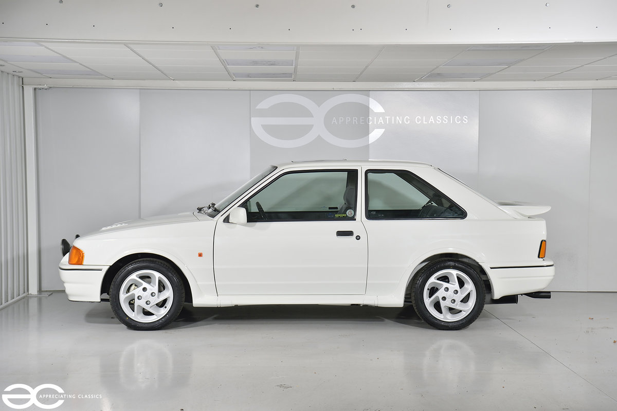 1990 90 Spec Escort RS Turbo S2 - 44k Miles - Last Owner 25 Years For Sale (picture 3 of 12)
