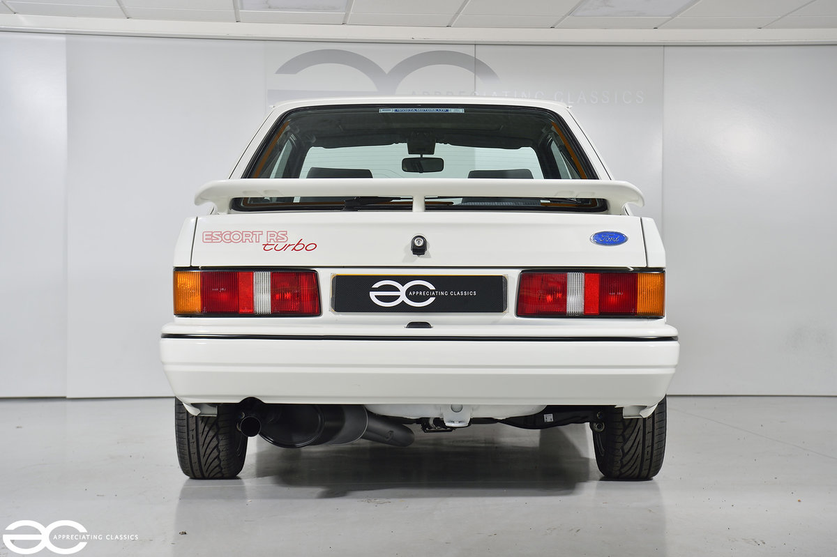 1990 90 Spec Escort RS Turbo S2 - 44k Miles - Last Owner 25 Years For Sale (picture 4 of 12)