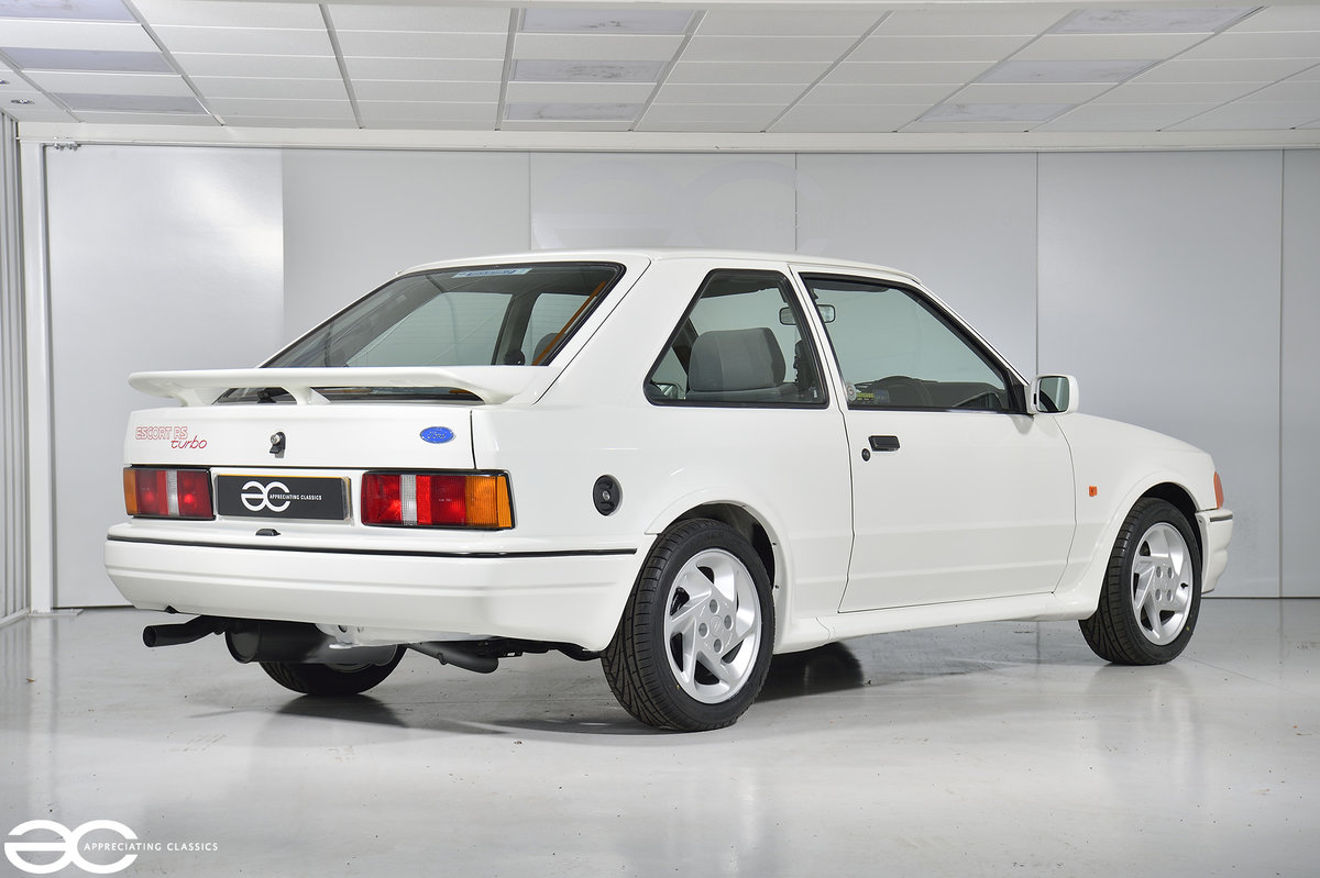 1990 90 Spec Escort RS Turbo S2 - 44k Miles - Last Owner 25 Years For Sale (picture 5 of 12)