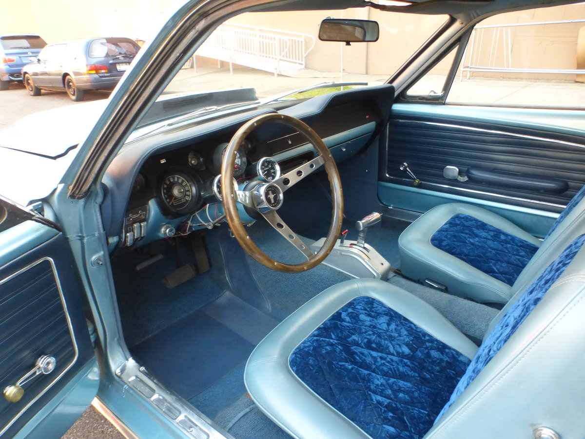 1968 Ford Mustang 289 V8 Very Presentable For Sale (picture 8 of 12)