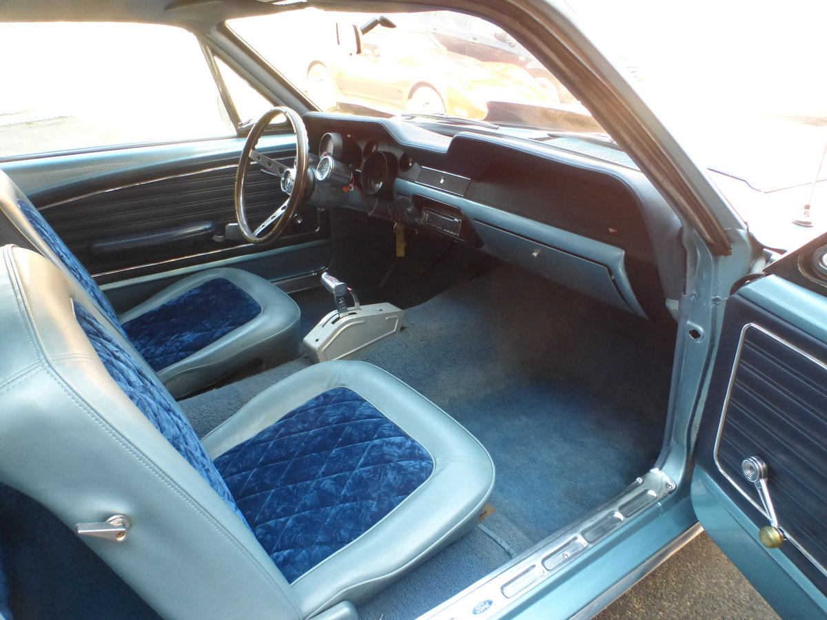 1968 Ford Mustang 289 V8 Very Presentable For Sale (picture 9 of 12)