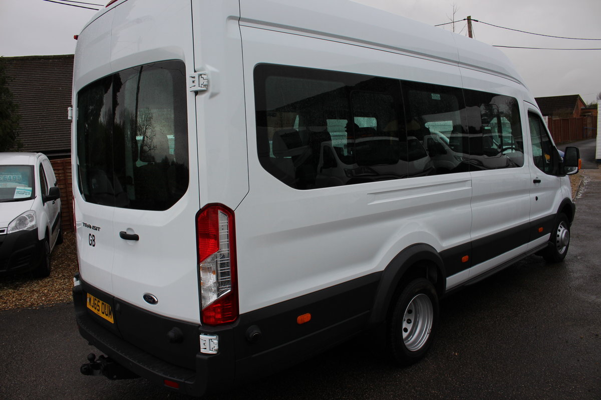 2015 65 FORD TRANSIT 2.2 460 HR BUS 18 SEATS For Sale (picture 2 of 12)