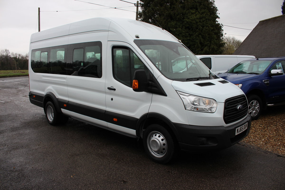 2015 65 FORD TRANSIT 2.2 460 HR BUS 18 SEATS For Sale (picture 3 of 12)