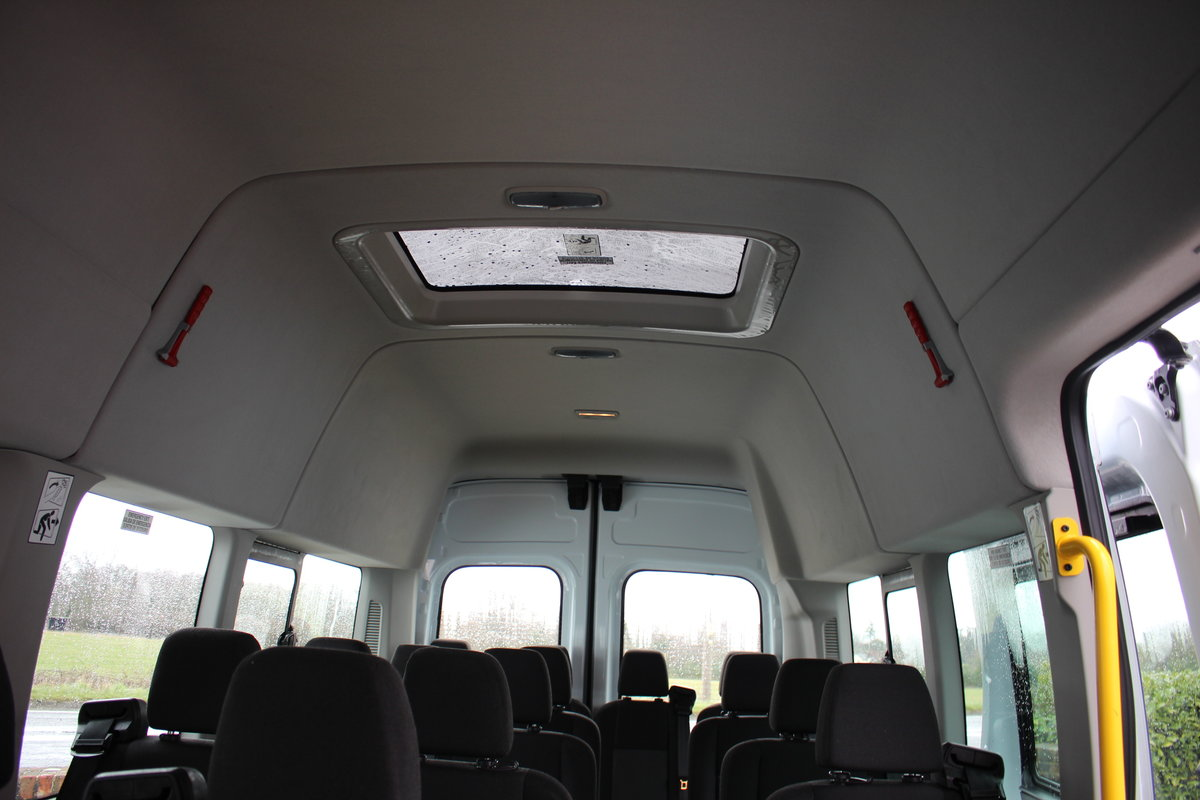 2015 65 FORD TRANSIT 2.2 460 HR BUS 18 SEATS For Sale (picture 8 of 12)