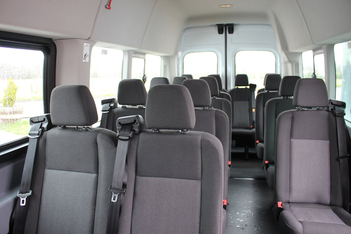 2015 65 FORD TRANSIT 2.2 460 HR BUS 18 SEATS For Sale (picture 10 of 12)
