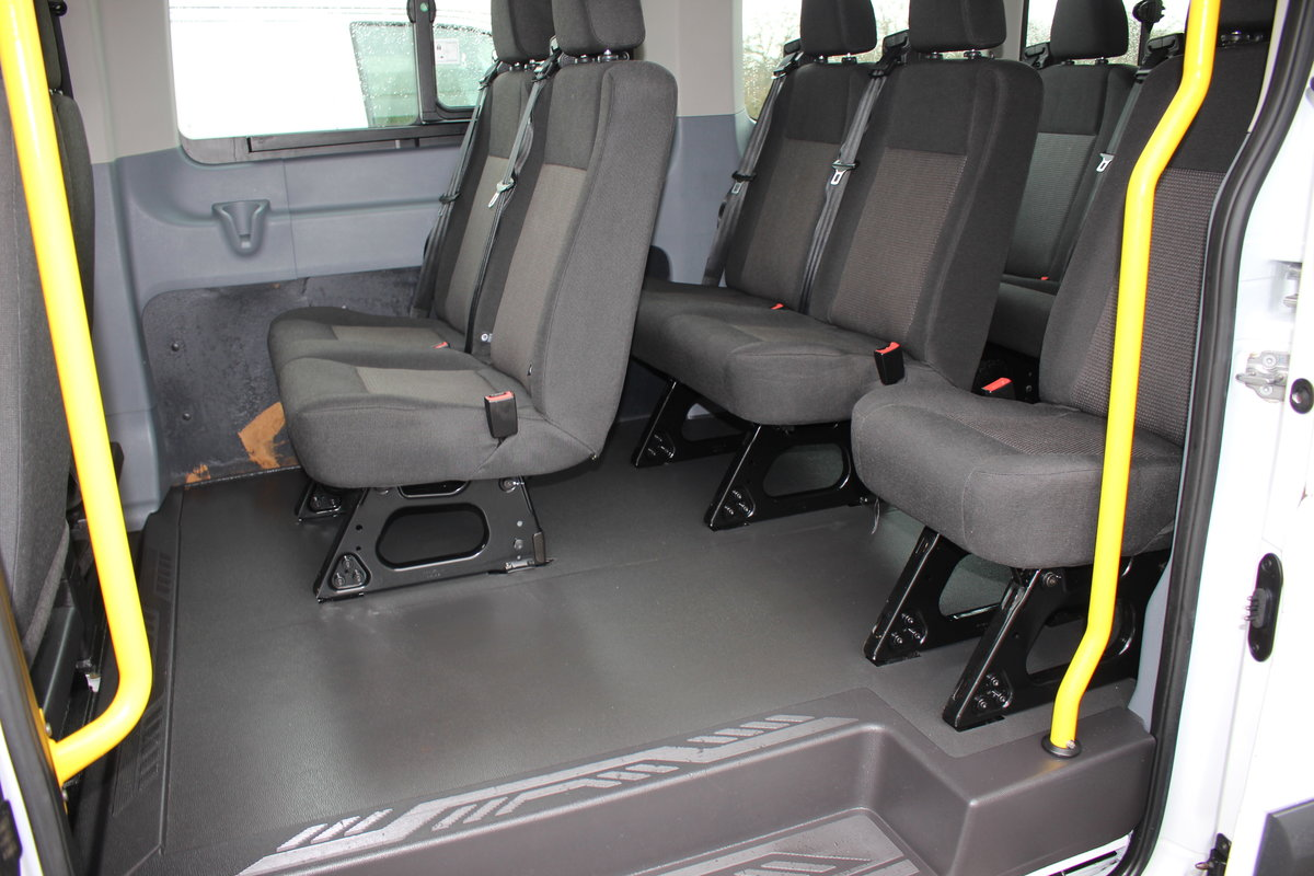 2015 65 FORD TRANSIT 2.2 460 HR BUS 18 SEATS For Sale (picture 11 of 12)
