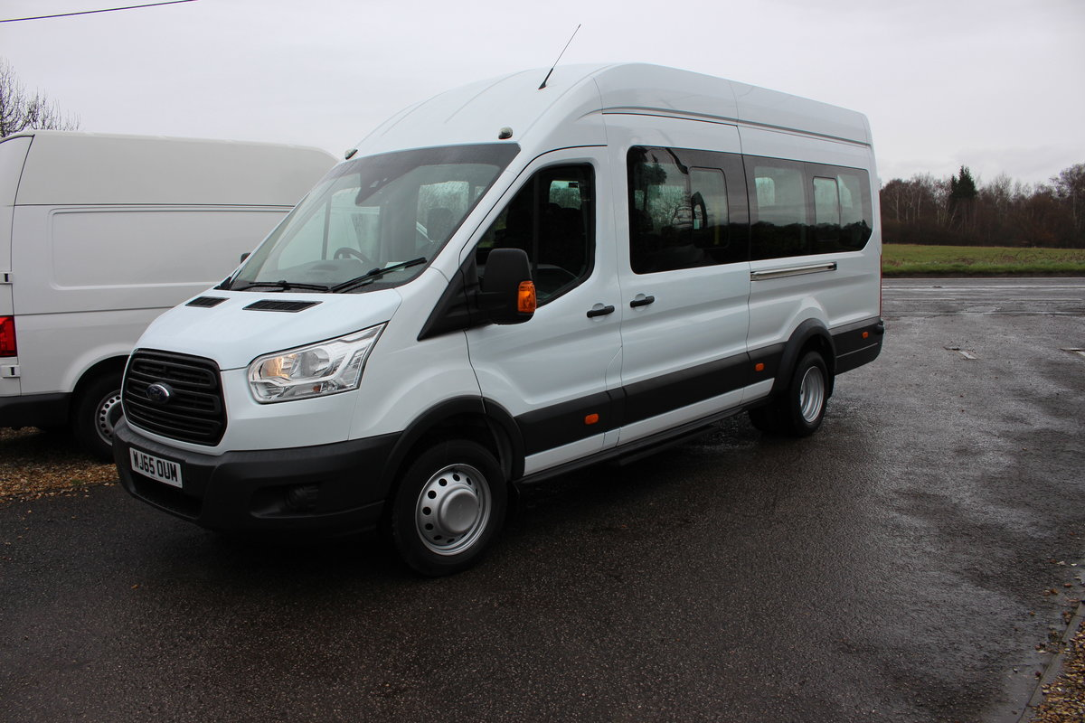 2015 65 FORD TRANSIT 2.2 460 HR BUS 18 SEATS For Sale (picture 12 of 12)