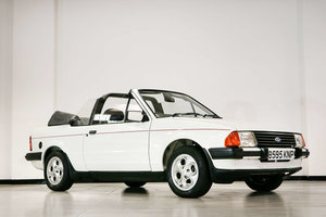 Picture of 1985 Ford Escort 1.6i Cabriolet  For Sale by Auction