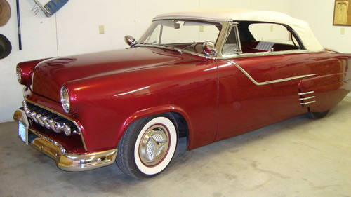 1954 Ford Sunliner Custom Convertible For Sale (picture 6 of 6)