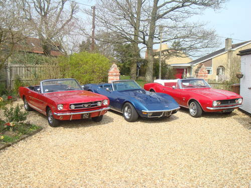 1970  FORD MUSTANG  HIRE CONVERTIBLE   Self Drive For Hire (picture 5 of 6)