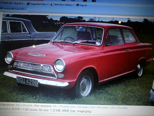 1964 wanted ford cortina mk1 2 door/ standard/ gt/  or lotus/  Wanted (picture 2 of 2)