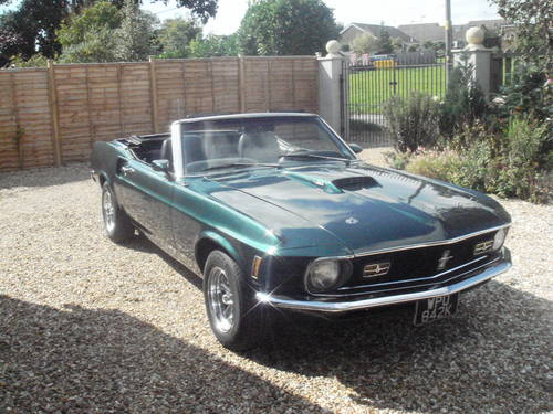 1970  FORD MUSTANG  HIRE CONVERTIBLE   Self Drive For Hire (picture 1 of 6)