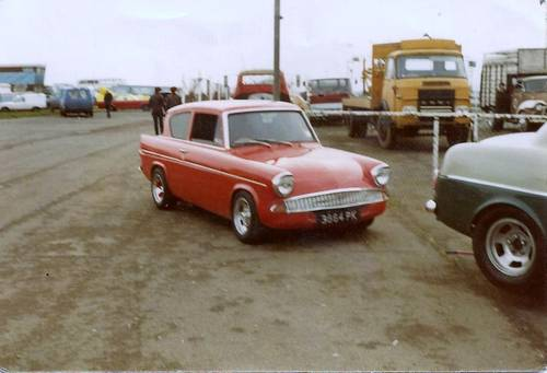 1966 where is my old anglia 105E  reg/ 3864 pk Wanted (picture 1 of 2)