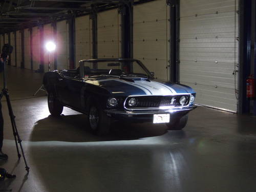 1969 Mustang V8 Convertible wedding car For Hire (picture 2 of 5)