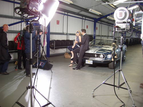 1969 Mustang V8 Convertible wedding car For Hire (picture 3 of 5)