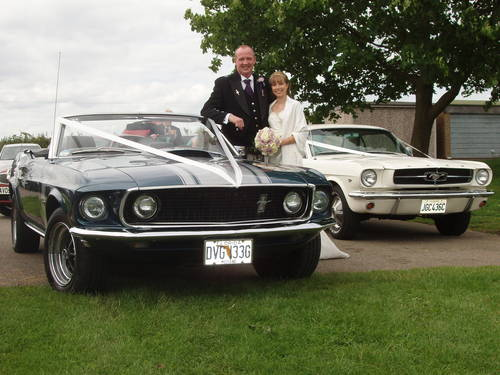 1969 Mustang V8 Convertible wedding car For Hire (picture 5 of 5)