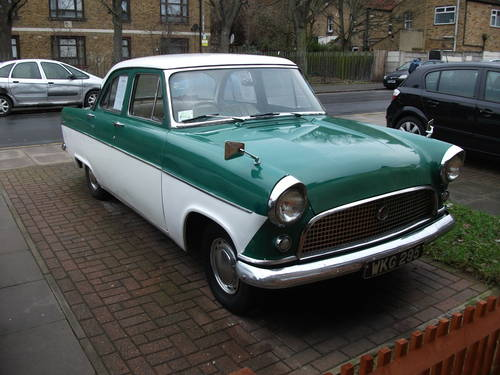 1960 Mk 11 Ford Consul Sold Car And Classic