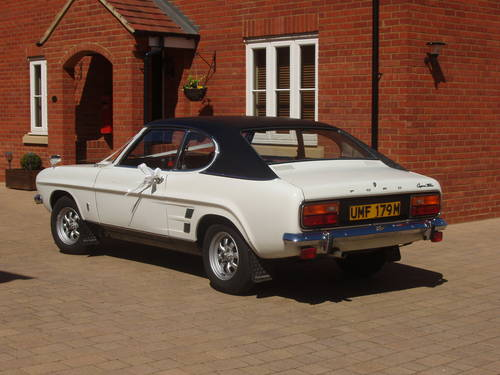 1973 Ford Capri XL MK1 wedding car For Hire (picture 2 of 2)