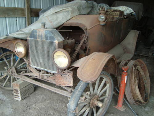 1917  Ford Model T Touring Car For Sale (picture 2 of 6)