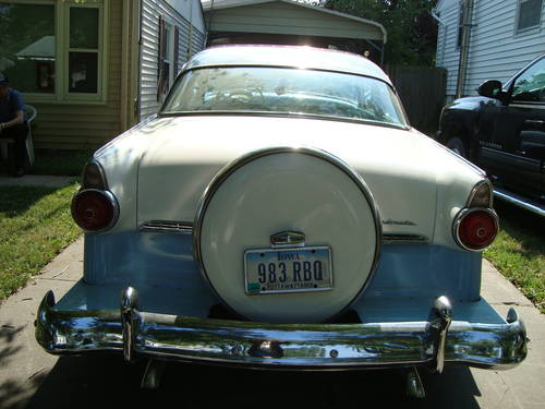 1955 Ford Crown Victoria Blue&White For Sale (picture 3 of 6)