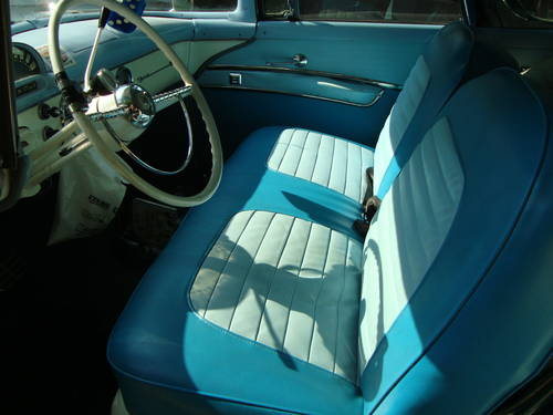 1955 Ford Crown Victoria Blue&White For Sale (picture 5 of 6)