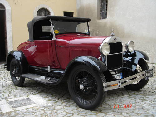 1929 Ford model A roadster SOLD (picture 1 of 4)