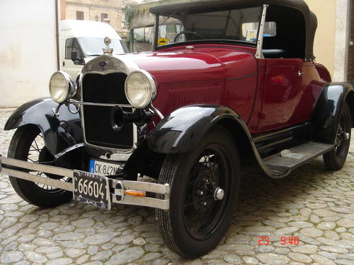 1929 Ford model A roadster For Sale (picture 2 of 4)