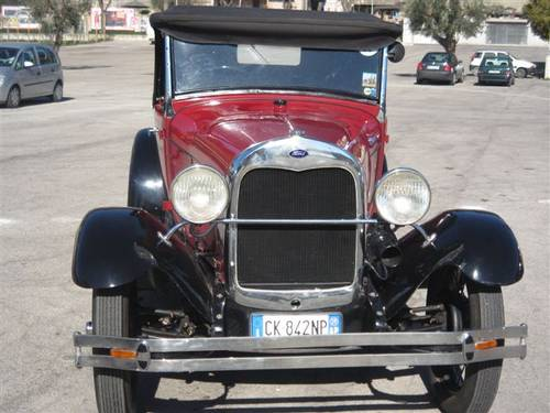 1929 Ford model A roadster SOLD (picture 4 of 4)