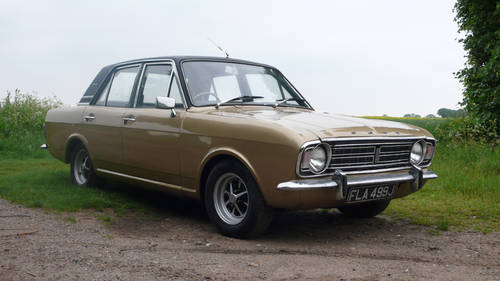 1971 Ford Cortina MK2 1600E SOLD | Car And Classic