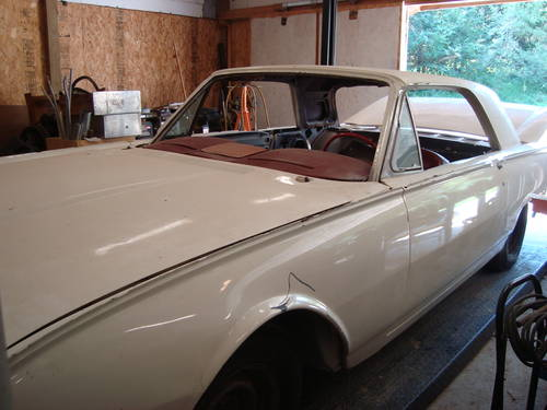 1962 Ford Thunderbird Coupe For Sale (picture 1 of 6)
