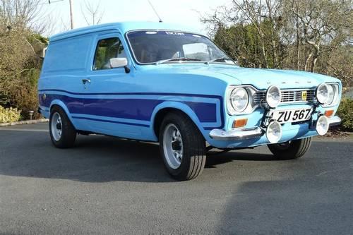 1969 Mk1 Escort Van Fully Restored Sold Car And Classic