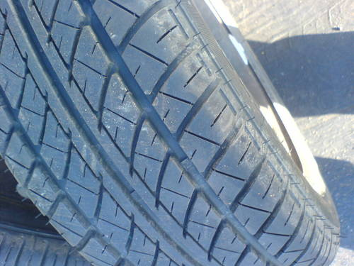 TYRES 185/65/14  x 4 on rims. For Sale (picture 1 of 2)