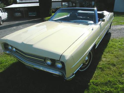 1969 Ford Galaxie 500 Convertible For Sale (picture 1 of 4)