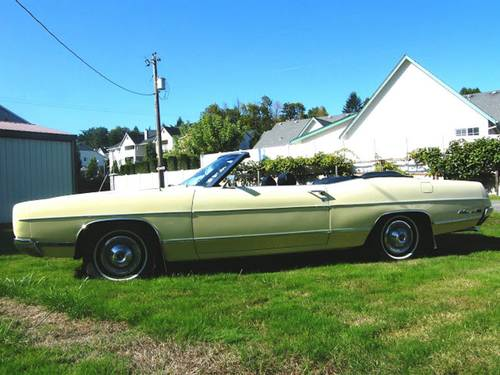 1969 Ford Galaxie 500 Convertible For Sale (picture 2 of 4)