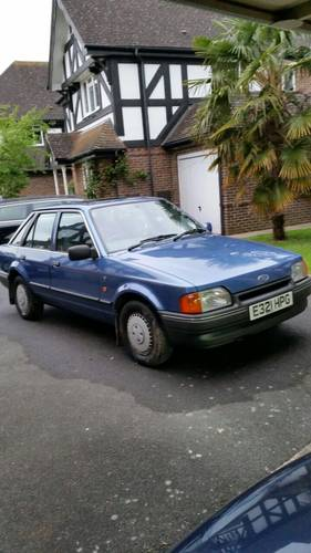 1988 Ford Escort MK IV - 1.6 Ghia (5 Speed Manual) For Sale (picture 1 of 6)
