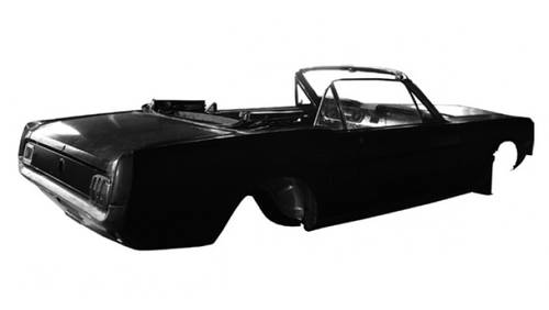 Reproduction Body Shell for Ford Mustang Convertible 1965-66 For Sale (picture 1 of 2)