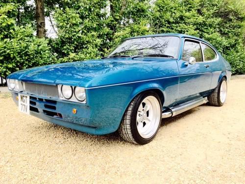 1979 mk 2 Ford Capri 5 7 6 2 v8 Chevy Edelbrock Blue One Off