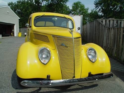 1937 Ford 2DR Slantback For Sale (picture 1 of 4)
