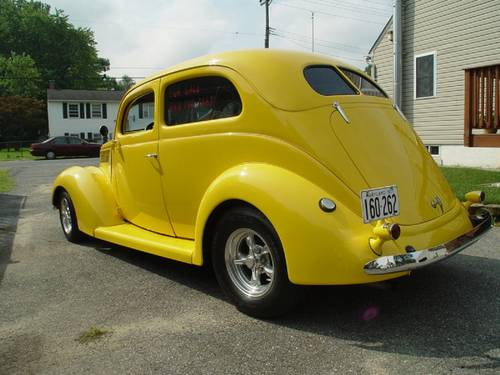 1937 Ford 2DR Slantback For Sale (picture 2 of 4)